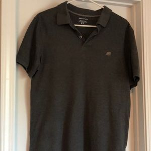 Banana Republic Heather Grey Size Medium Polo